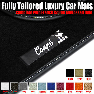 Mercedes C-Class Coupe - Fully Tailored Luxury Car Mats (2001 - 2007)