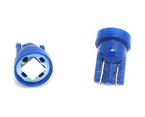5x LED lampe Xenon T10 W5W BLEU-Voiture//tuning Car Dashboard LIGHT BULB BLUE 12V
