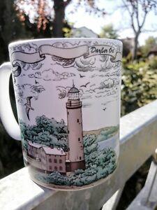 Maritimer-Kaffeebecher-Leuchtturm-Darsser-Ort