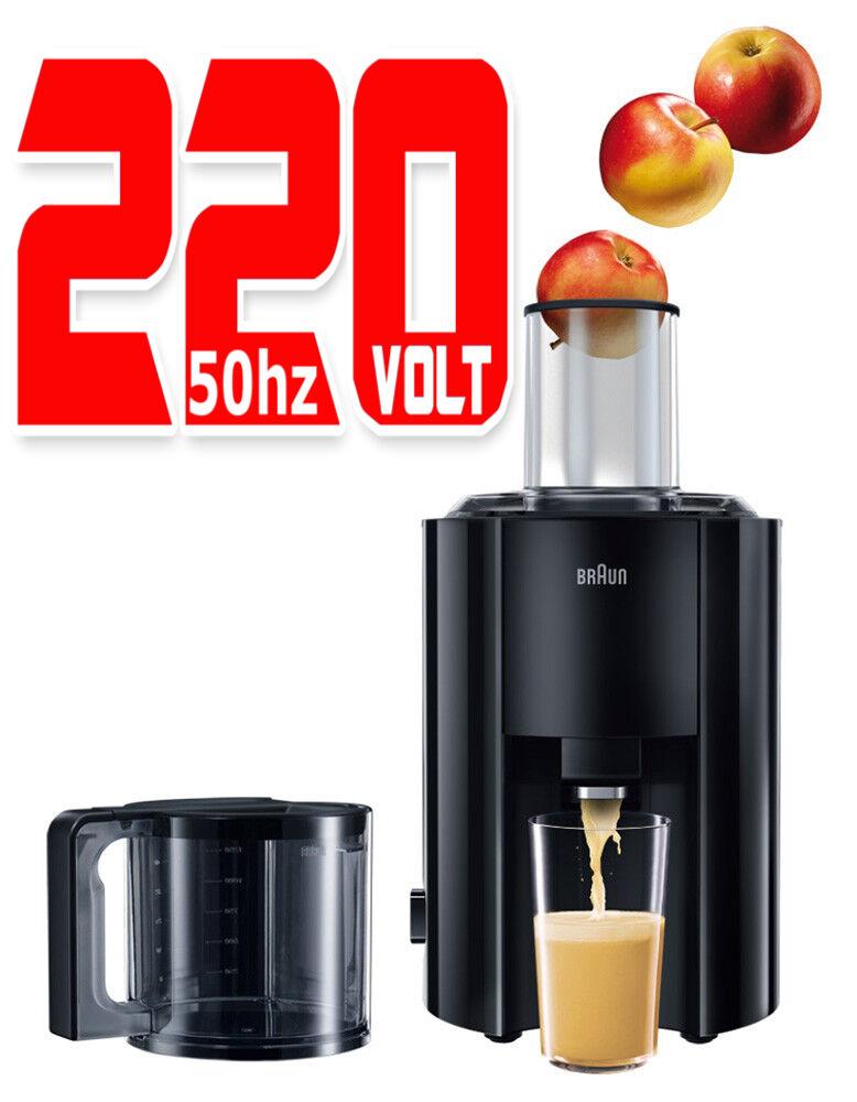 marron J300 NOUVEAU 220 V 800 W Jus Extracteur Juicer 220 V