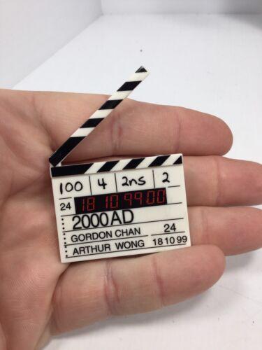 1//6 TH SCALE MOVIE PRODUCTION DIRECTORS CLAPPER CINEMA SLATE DRAGON BBI DID 21ST