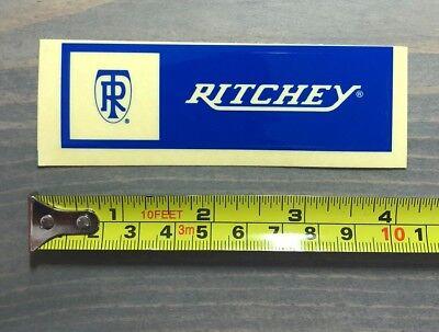 "4/"" Ritchey Bikes Sticker Decal Cylcling Blue Mountain Bike MTB Road"