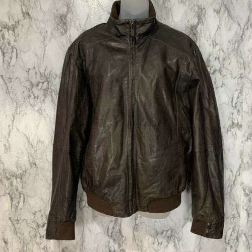 TRAPPER UK brand Lamb Nappa genuine Leather bomber