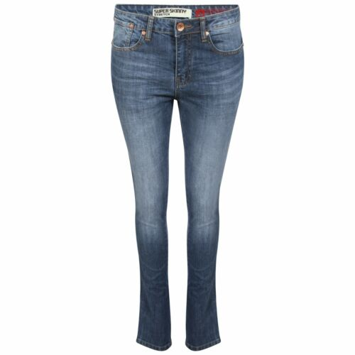 Garçons Skinny Extensible Hommes Jean Utilisé Super Délavé Slim Taille Bas AI47xdT