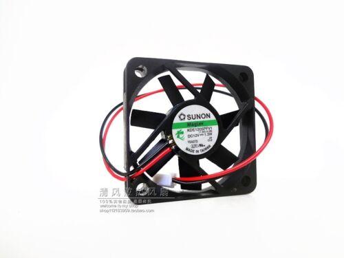 For SUNON MagLev KDE1205PFV2 DC12V..1.1W 50mmx10mm 3-wire FAN