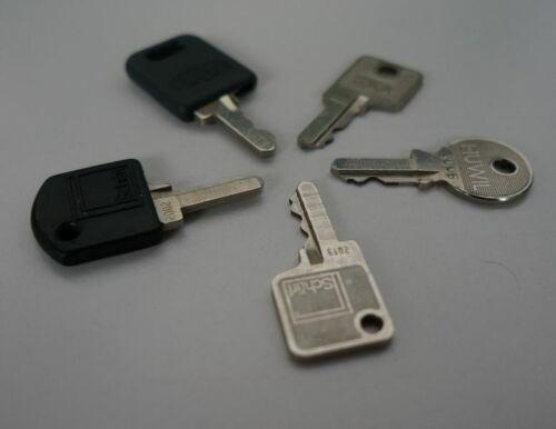 Ersatzschlüssel Büromöbel Büro Schlüsselnummern 2000-2150 Oka Schärf Huwil kgf