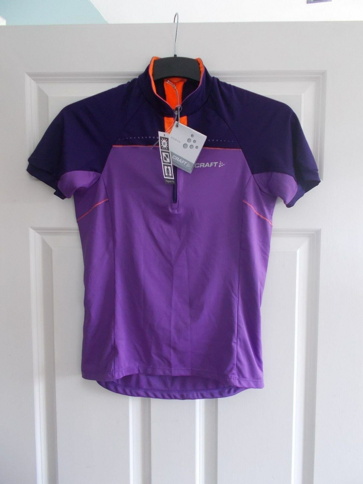 New Craft kvinnor Dynasty Move Short Slieve Half-Zipped Cycle Jersey