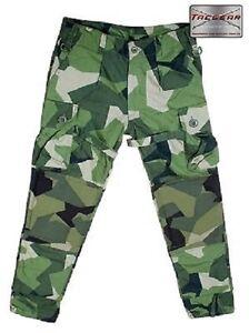 Tacgear-Swedish-M90-Camouflage-Ksk-Pants-Outdoor-Pants-Medium