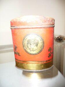 Vintage 1937 OXO George VI Coronation Tin Money Box - Nice Display Piece!