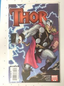 Thor-issue-3-Variant-Straczynski-Coipel-Morales-Martin-Marvel-NM-2007