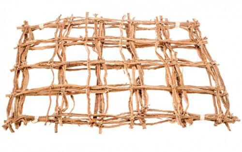 NaDeco® Kokosnetz natur 50x40cm 5 StückRankgitterPalmennetzKokosgitter