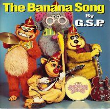 The Banana Splits - The Banana Song - 1992 UK Import 7 Inch Vinyl Record NEW