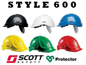 SCOTT PROTECTOR STYLE 600 / HC600V SAFETY HELMET HARD HAT