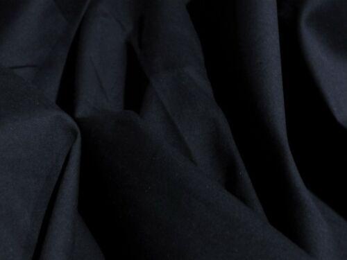 100/% coton-marine foncé-fashion//Craft Tissu-Free p/&p Royaume-Uni uniquement