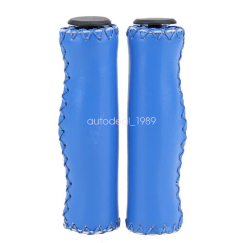 Classic Retro Bike Cycling Bicycle PU Leather Handlebar Grip Cover Accessories