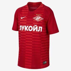 Camisetas Nike del Spartak Moscú 201819