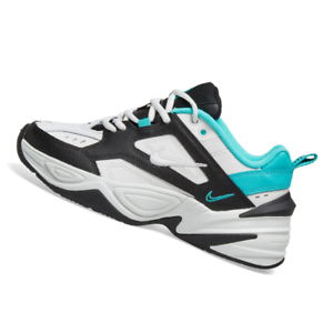 Details about NIKE WOMENS Shoes M2K Tekno White, Black & Jade AO3108 102