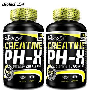Creatine-PH-X-90-180-Caps-Creatine-Alkaline-Buffered-Monohydrate-Muscle-Growth