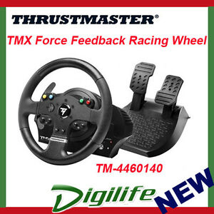 thrustmaster tmx pro force feedback racing wheel for pc xbox one ebay. Black Bedroom Furniture Sets. Home Design Ideas