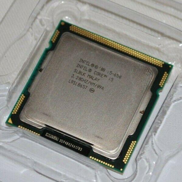 Intel Core i5-650, 3.2 GHz, SLBLK 4MB LGA1156