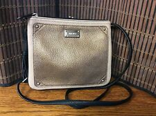 Nine West medium Jaya ladies handbag cross body satchel black bronze taupe H34