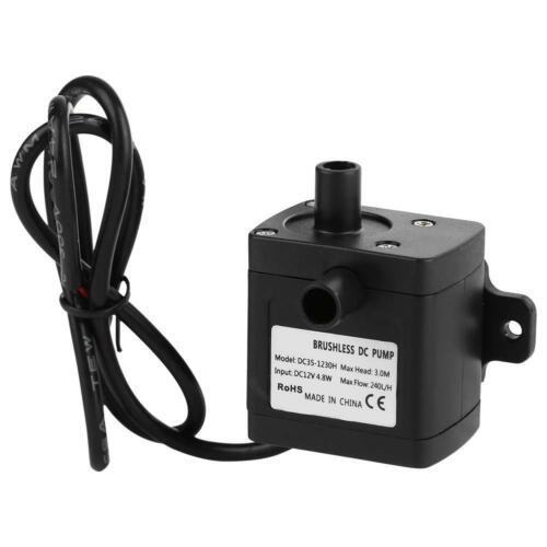 4.8W 740 L//H Mini Pumpe Wasserpumpe Tauchpumpe Für Aquariumpumpe Neu