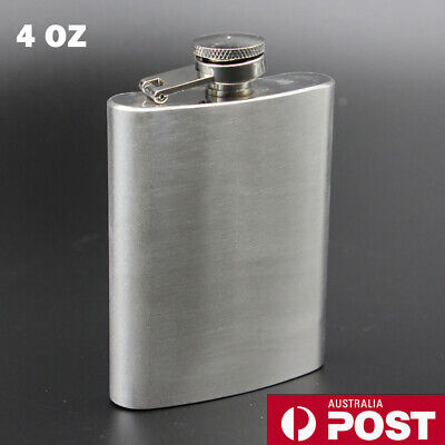 Portable Stainless Steel Hip Flask Outdoor Camping Flagon Pocket Size Flask Unisex Stoup Mini Wine Pot Unique Gift Silver