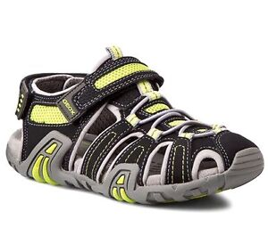 Breathable About Sandals Kids Sand Kraze Black Toe Childrens Closed Details Geox Respira NwPOyvm8n0