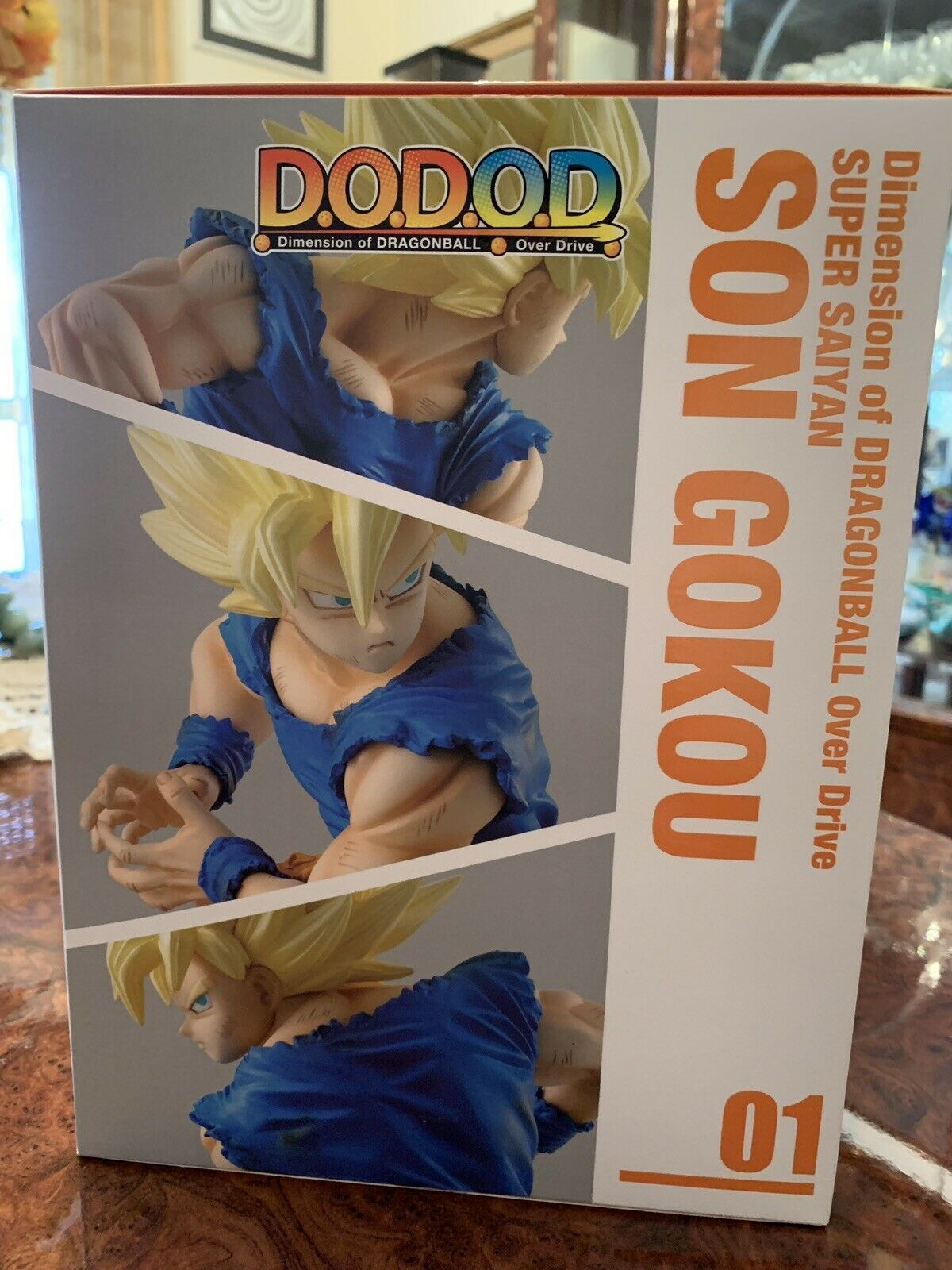 Megahouse Dragon Ball Goku Ssj Kamehameha Dod Dod Dod D.o.d. Dimension Of Dragon Ball df8638