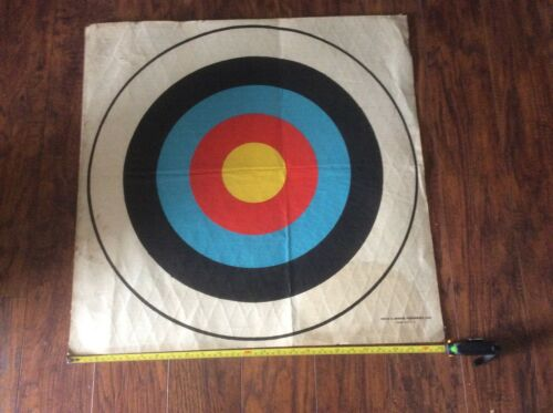 Classic Style 25 X 25 Vintage Archery Toughenized Face Target