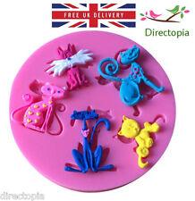 3d Cat Natura Design Fondente Pasta Di Zucchero Decorazione Torte Stampo unico GATTI stampo