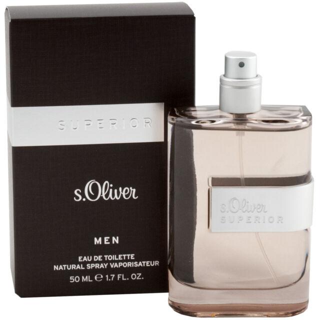 new concept new product shopping S.Oliver Superior Men Eau de Toilette EDT Spray 1.7oz for Man