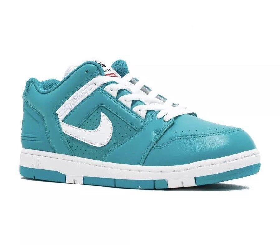 Mens Nike Sb Af2 Low 'Supreme' - Aa0871-313 - schuhe Blau Größe UK 10