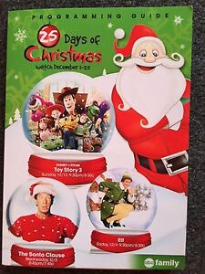 Abc Family 25 Days Of Christmas.Details About New 2015 Abc Family 25 Days Of Christmas Air Freshener Disneyland Give A Way