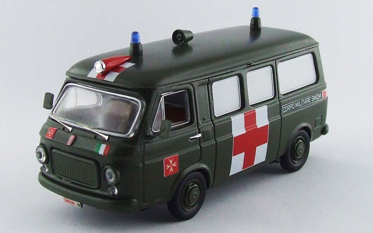 Fiat 238 Ambulanza Corpo Militare S.M.O.M. Sovrano Militare Ordine Di Malta 1 43
