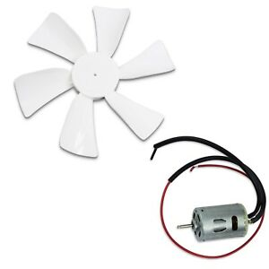 Image Is Loading Rv Vent Motor With Fan Blade 12 Volt