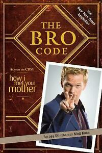 The-Bro-Code-Matt-Kuhn-Barney-Stinson-Good-Condition-Book