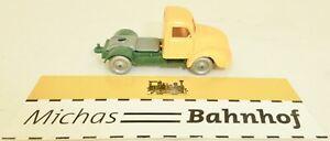Capot-Rond-Magirus-Camion-Zugmaschine-Orange-Vert-imu-Replique-Serie-1-87