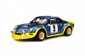 1-18-Otto-Renault-Alpine-a110-Turbo-Rally-9-THERIER-Otto-mobile-ot249-NEUF-NEW