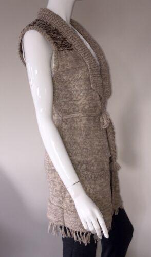 Women Quality Good Brand Fantastic Cardigan Gift Woolen New Sleeveless aT6wrFaq