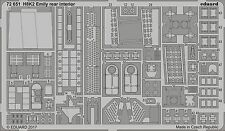 Eduard 1/72 Kawanishi H8K2 Type 2 Emily Rear Interior # 72651