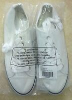 Asos Mens Bradley Lace Up Canvas Trainers Plimsolls With Tow Cap Size 6/39 White