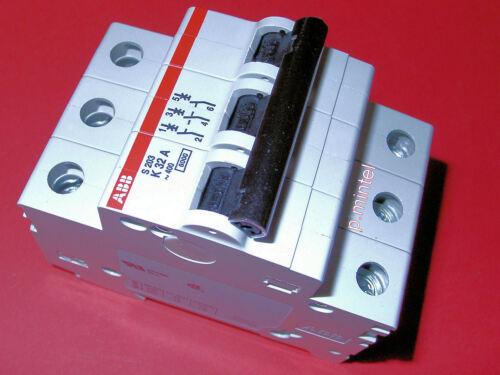 ABB S203-K32 32A Sicherungsautomat Leitungsschutzschalter 3-polig