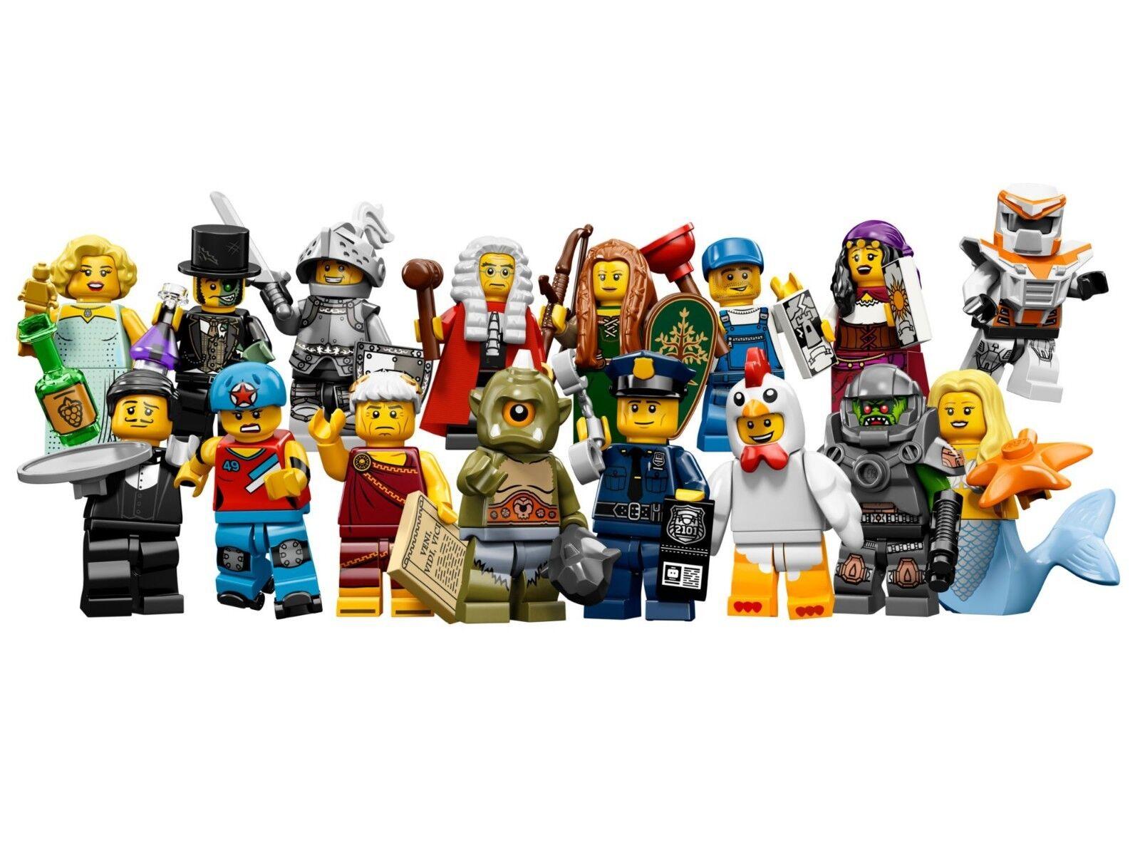 100% nuovo di zecca con qualità originale LEGO 71000 tutti i personaggi della serie serie serie 9 completa 16 cifra collezione da 2013  in vendita online
