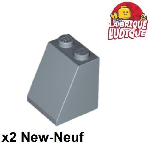 Lego 2x Steigung Lego Neigung geneigt 65 2x2x2 blau Hell/sand blau 3678b neu Baukästen & Konstruktion