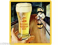 National Bohemian Beer Bar Refrigerator / Tool Box Magnet Man Cave