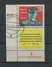 DDR 732 DV S Zd A9 DV BECHER 1959 DRUCKVERMERK gest. d721