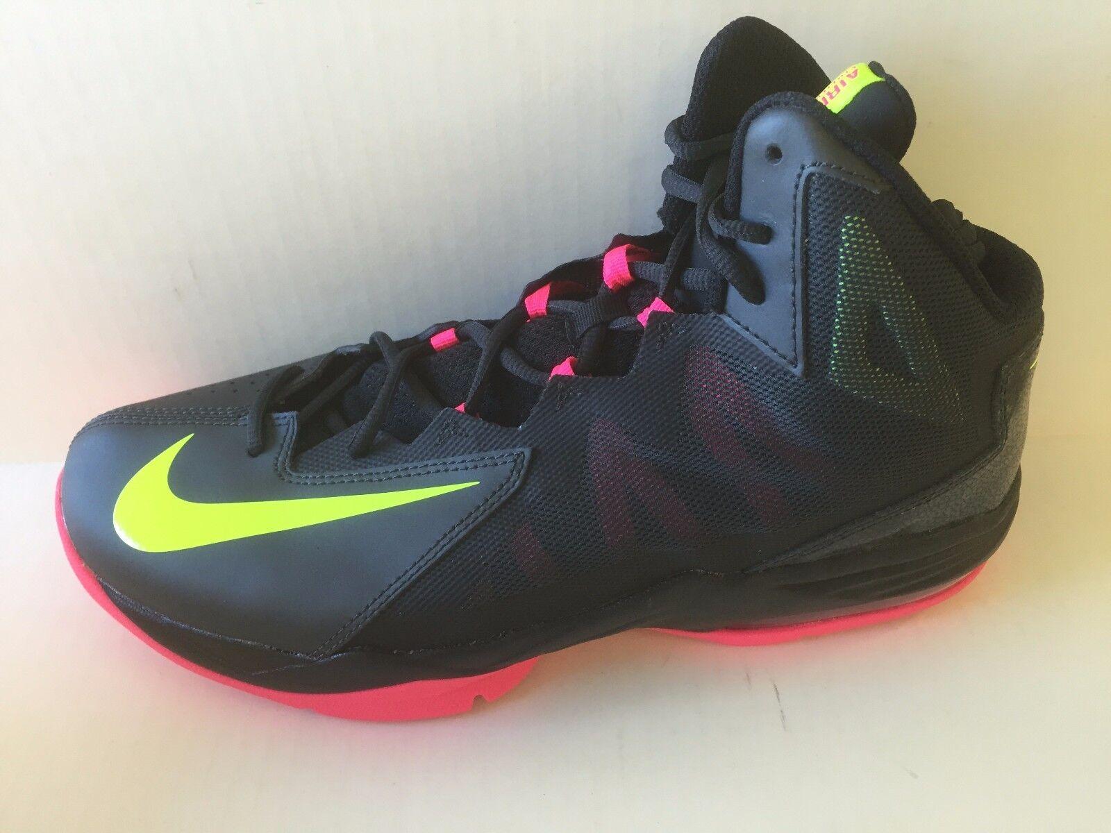 Hombres Nike Air Max Basketball tartamudean paso 2 Athletic Basketball Max zapatos Laces 11,5 multicolor 21ec9b