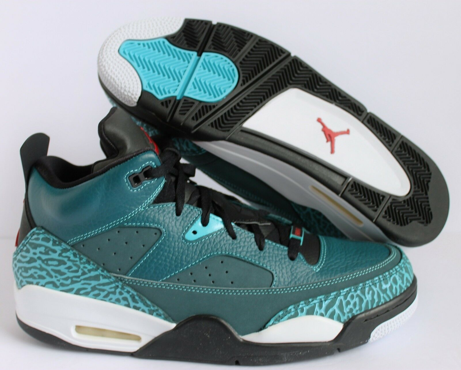 Nike Air Jordan Son RojoNegroblanco of Low oscuro seaGimnasio RojoNegroblanco Son [580603303] 486c4e