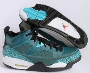 on sale f5f38 e2726 A imagem está carregando Nike-Air-Jordan-Son-Of-Low-Escuro-Sea-
